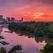 Saturday Sunrise by Whisle (Clyde Cornett)