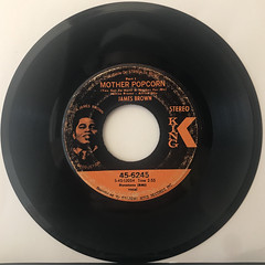 JAMES BROWN:MOTHER POPCORN(RECORD SIDE-A)