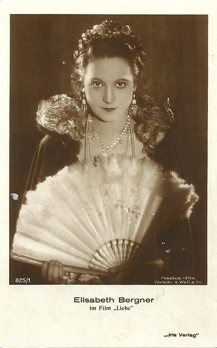 Elisabeth Bergner in Liebe (1927)