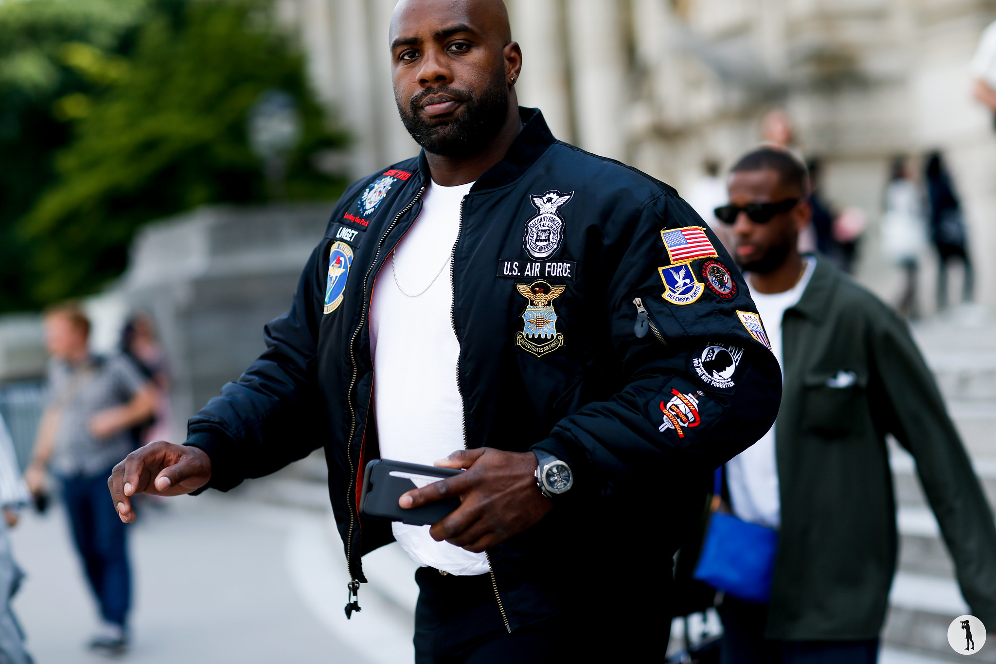 Teddy Riner - Paris Fashion Week Menswear SS19 (1)