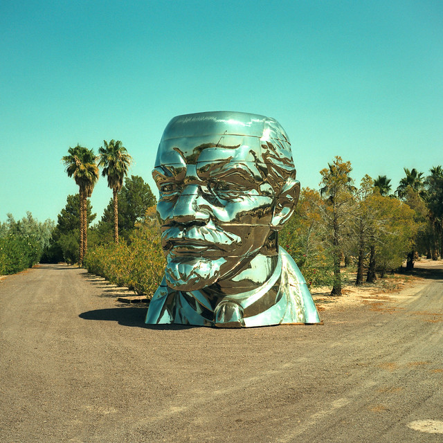 everybody loves lenin. mojave desert, ca. 2018.