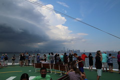 Embarkation Day on the Adventure of the Seas - Leaving Cape Liberty (Bayonne, New Jersey) - July 27th, 2018