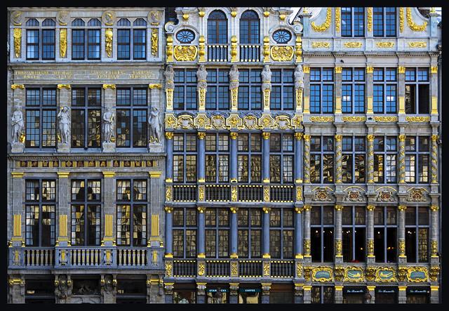 Grand Place, Nikon D3100, AF Zoom-Nikkor 35-105mm f/3.5-4.5