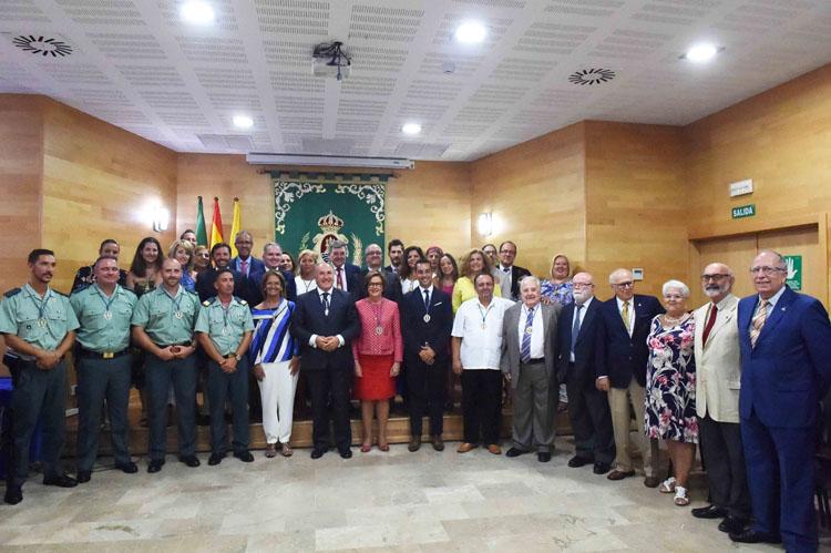 ACTO DE ENTREGA DE MEDALLAS VIRGEN DE LA PALMA 20181