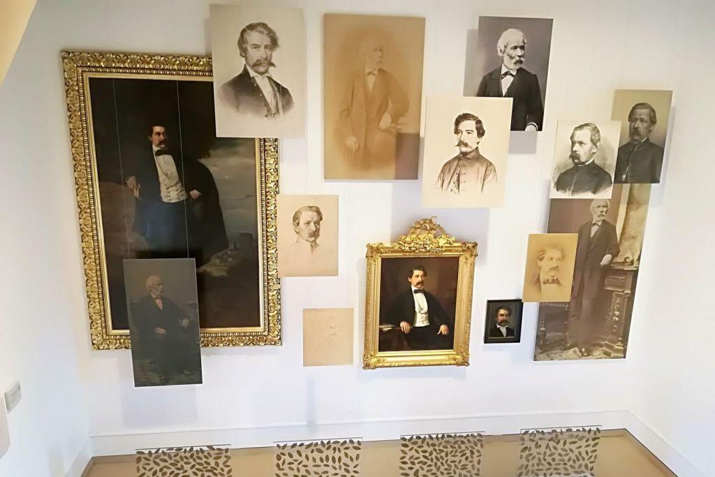 Arany-portrék a nagyszalontai Arany János Emlékmúzeumban | Fotó: Borsi Balázs | Fotó forrása: maszol.ro