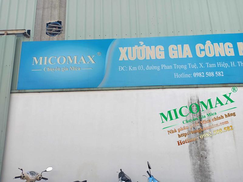 thông tin về đại lý Mica Đài Loan