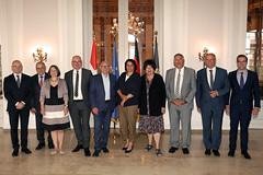 Empfang einer Regierungsdelegation aus Basel
