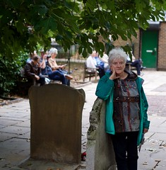 The Unveiling of a Gravestone for William Blake