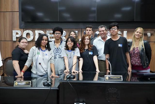 Programa Visite a Câmara - Escola Estadual Presidente Castelo Branco