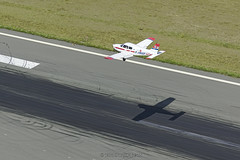 Cleared to land on runway 30 at LFOB