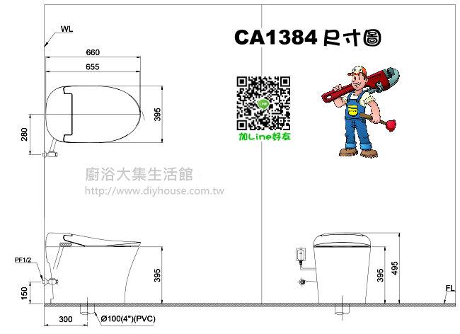 CA1384 Size
