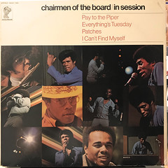 CHAIRMEN OF THE BOARD:IN SESSION(JACKET A)