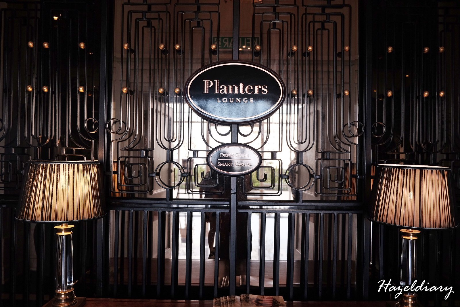 Eastern and Oriental Hotel Penang Malaysia-Planters Lounge