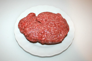 06 - Zutat Rinderhackfleisch / Ingredient ground beef