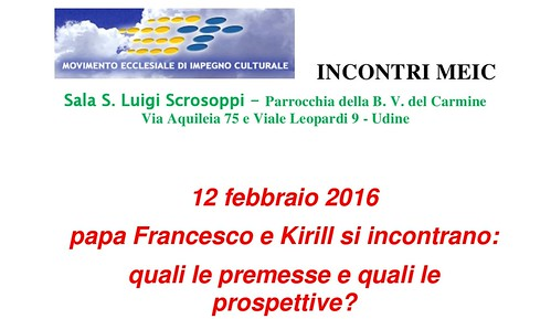 Incontro Francesco Kirill locandina-002