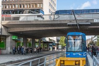 Stockholm Public Transport - SL Rail Train in Sweden