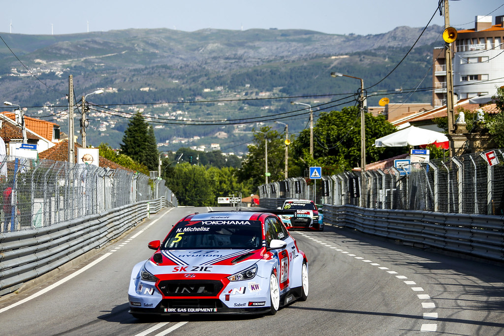05 MICHELISZ Norbert, (hun), Hyundai i30 N TCR team BRC Racing, action, during the 2018 FIA WTCR World Touring Car cup of Portugal, Vila Real from june 22 to 24 - Photo Paulo Maria / DPPI