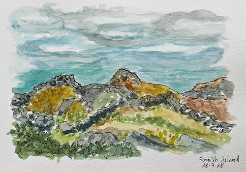 Furnish Island. Co.Galway. Ireland