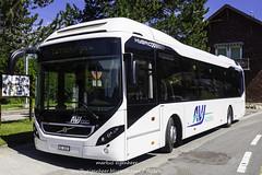 AVJ Volvo Hybridbus in Le Pont