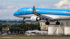 KLM Embraer ERJ175STD+ PH-EXG