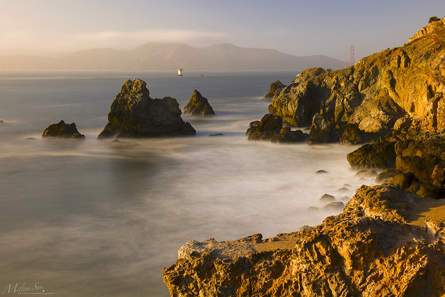 The Mouth of the Golden Gate in the Twilight