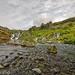 Creks, rivers and waterfalls omn Gjain
