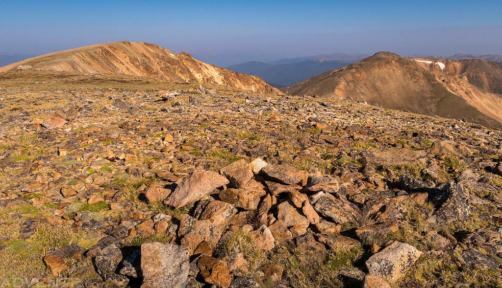 Landslide Peak Summit