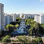 Патриаршее служение в храме Новомучеников и исповедников Российских в Строгине г. Москвы