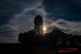 Lanstroper Ei im Sonnenuntergang