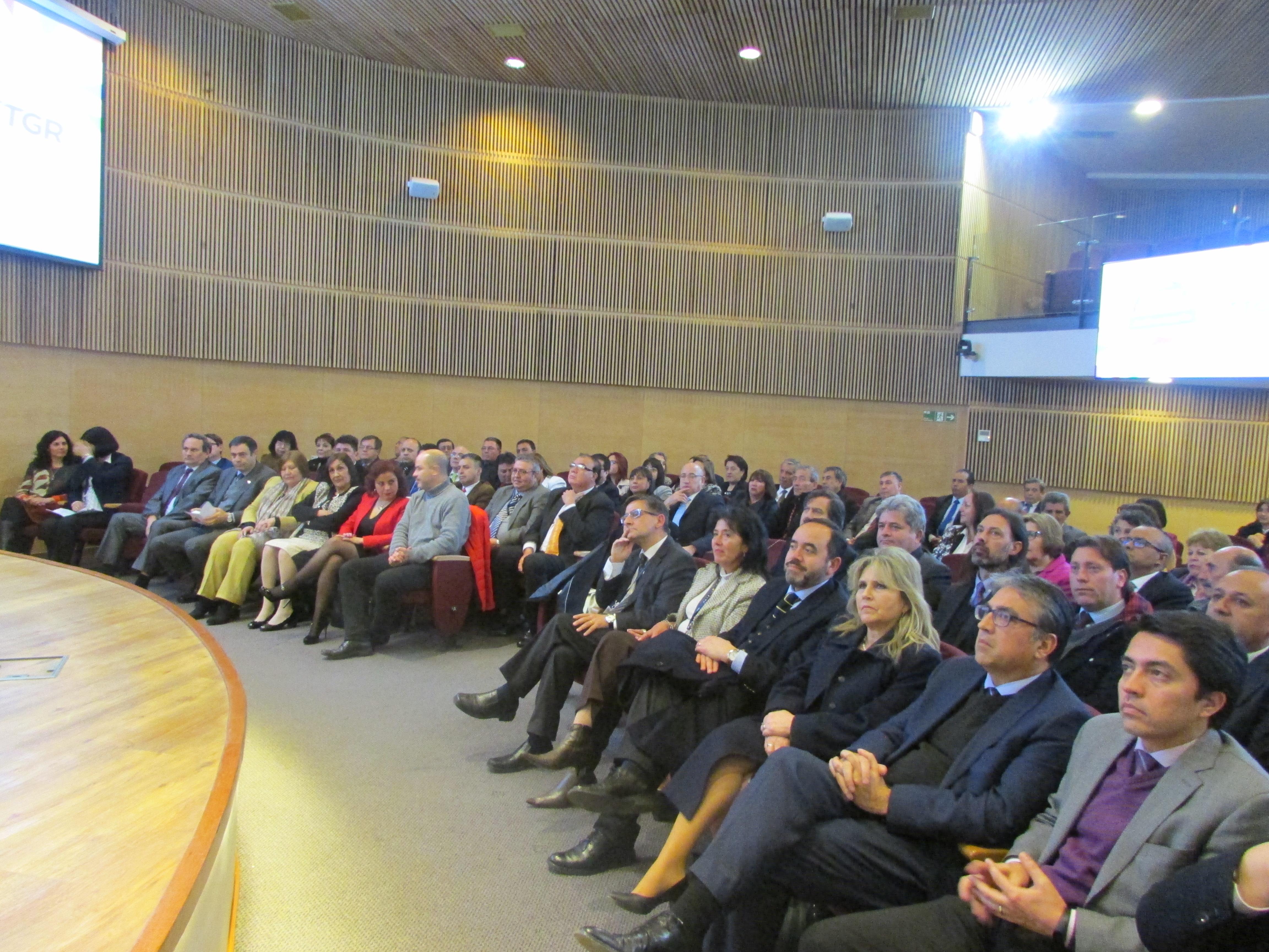 AET presente en Ceremonia Premiación de 67 funcionarios/as de la TGR - 01 Agosto 2018