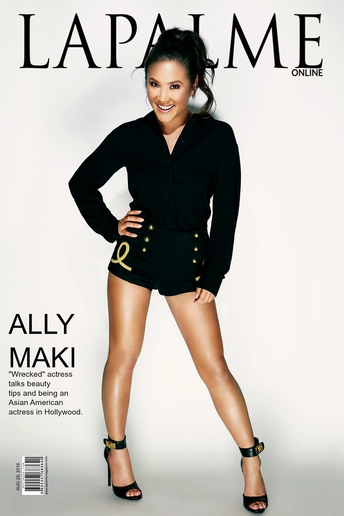 Ally Maki Nude Photos 12