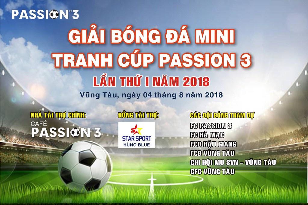 Khai mạc giải bóng đá mini Cup Passion 3 lần I tại Vũng Tàu