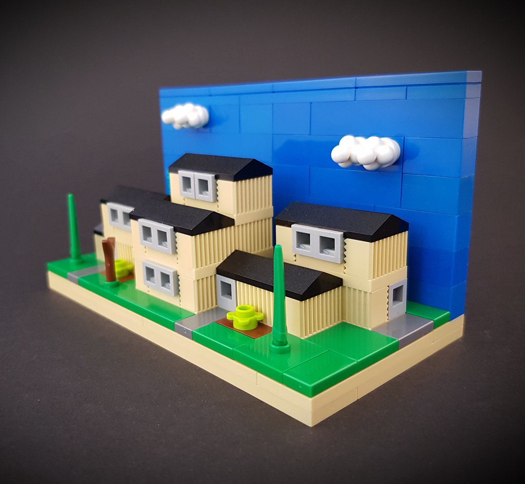 Swedish Block of Flats MOC