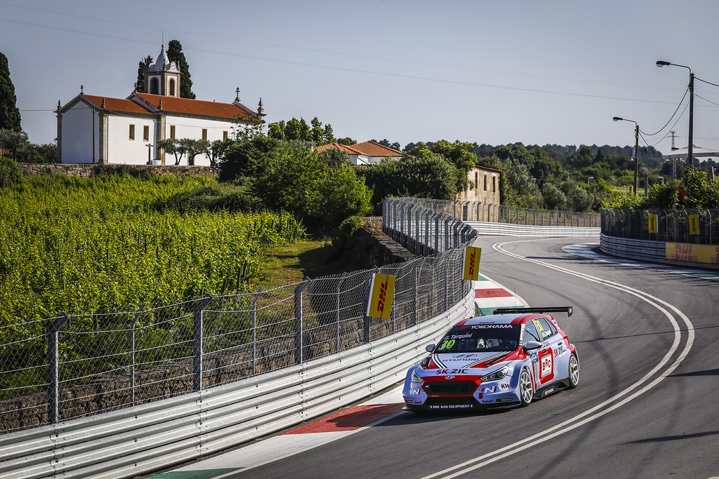 30 TARQUINI Gabriele, (ita), Hyundai i30 N TCR team BRC Racing, action during the 2018 FIA WTCR World Touring Car cup of Portugal, Vila Real from june 22 to 24 - Photo Francois Flamand / DPPI