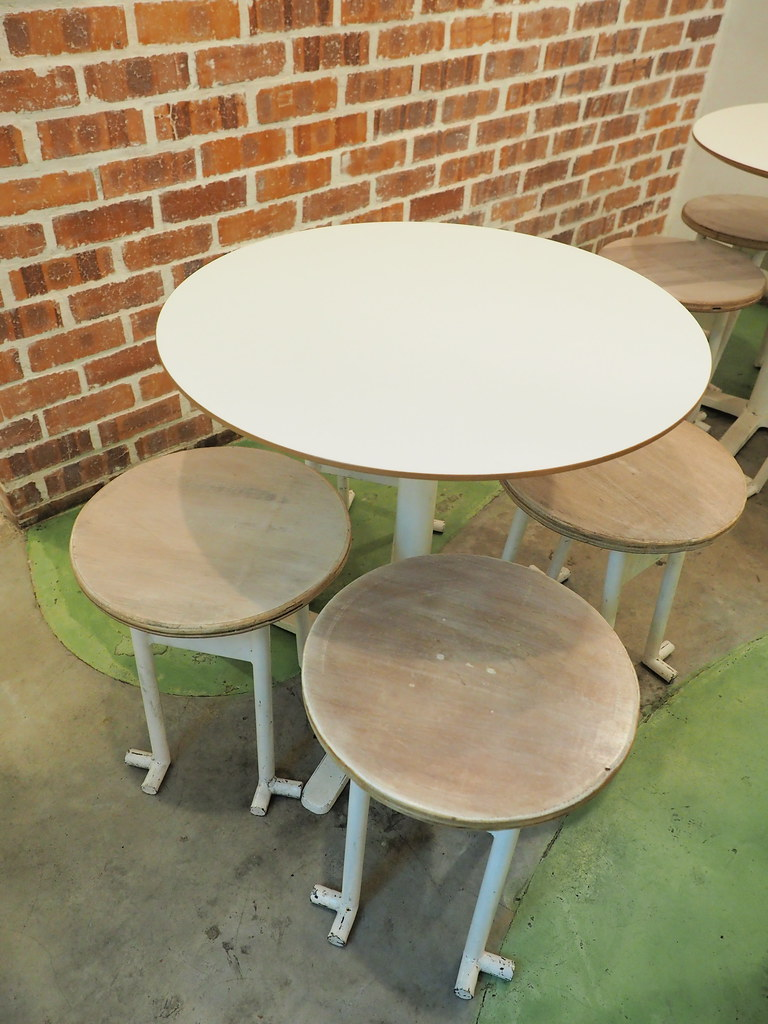 Tables and Chairs at Kakigori @ Taman Paramount