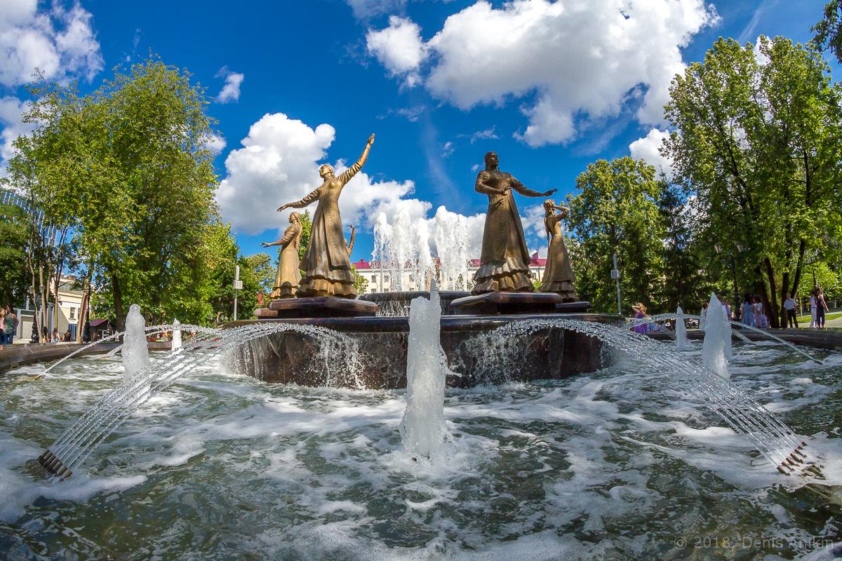 фонтан Семь девушек Уфа фото 7