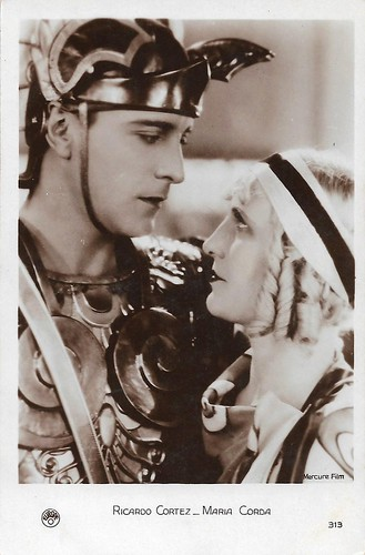Maria Corda and Ricardo Cortez in The Private Life of Helen of Troy