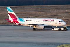 D-AGWC Eurowings A319 Cologne Bonn Airport