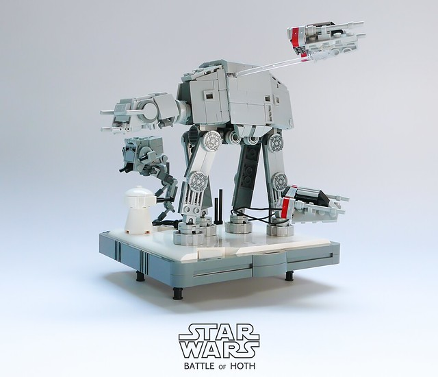 LEGO Battle of Hoth microscale