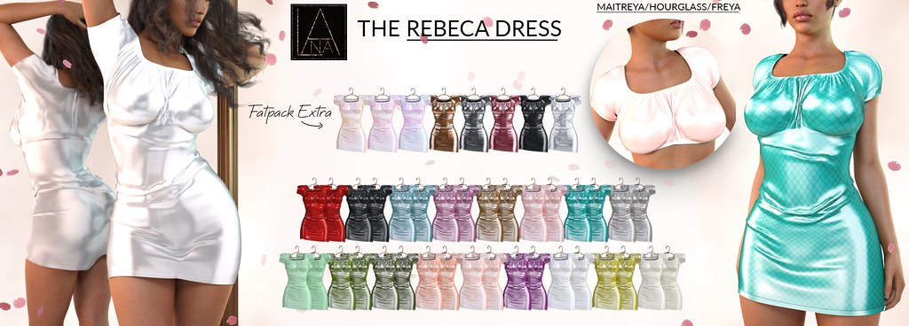 #LANA // The Rebeca Dress @Access - TeleportHub.com Live!