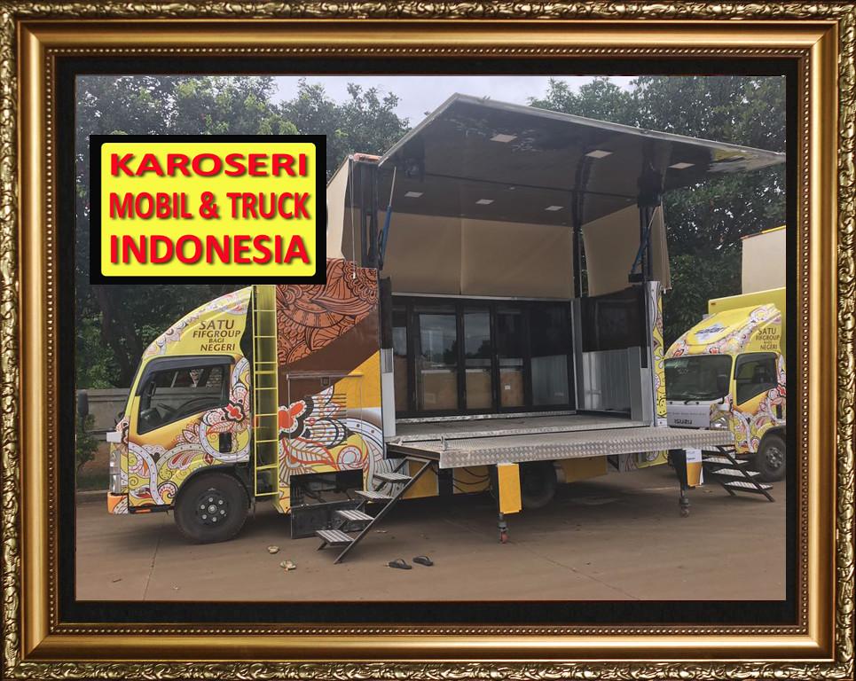Karoseri Mobil & Truck - Panggung