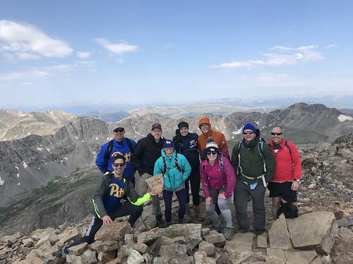 2018 - Denver Pitt Club 14er Hike Gallery