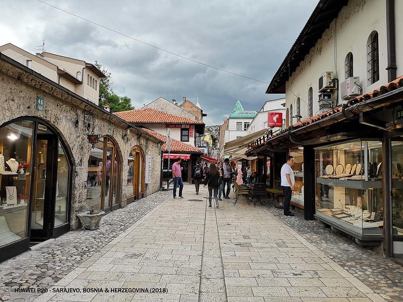2018 Day 3 Bosnia 04 Sarajevo Old Town 2