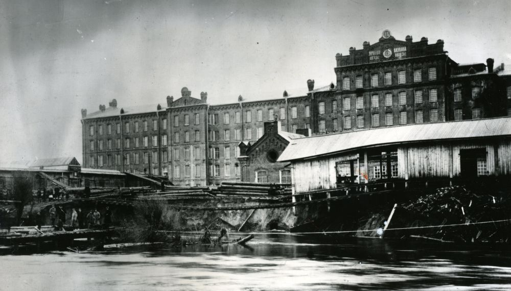 Ярцевская текстильная фабрика Хлудова. XIX век