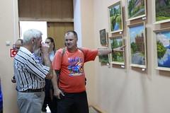 Закрытие XIX Международного пленэра художников-живописцев, посвященного 20-летию картинной галереи