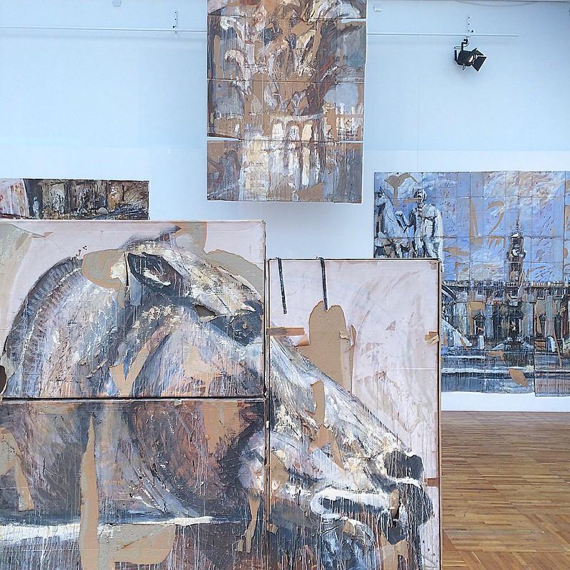 Выставка В. Кошлякова в Новой Третьяковке, лето 18