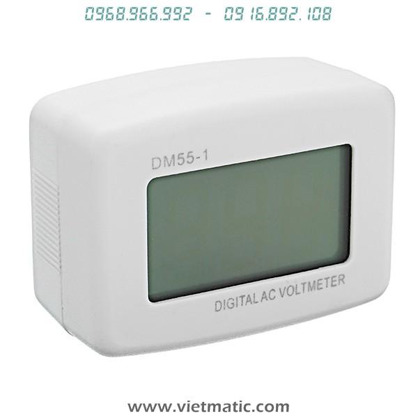 Đồng hồ đo điện áp xoay chiều 220V điện tử