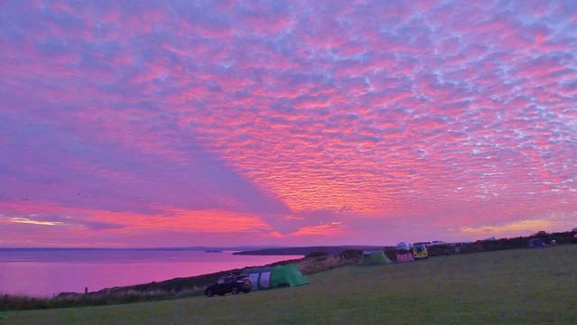 Sunrise, Pembrokeshire, Wales, Panasonic DMC-TZ30