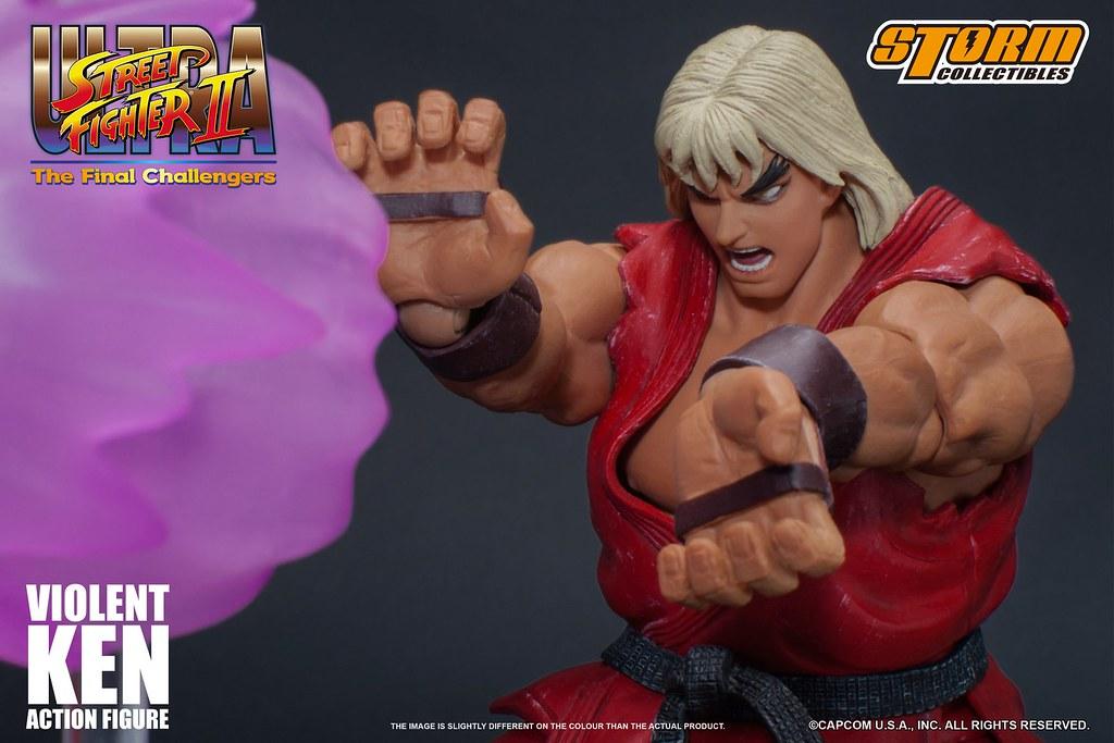 Storm Collectibles Evil Ryu /& Violent Ken Ultra Street Fighter II Figure 2-SET