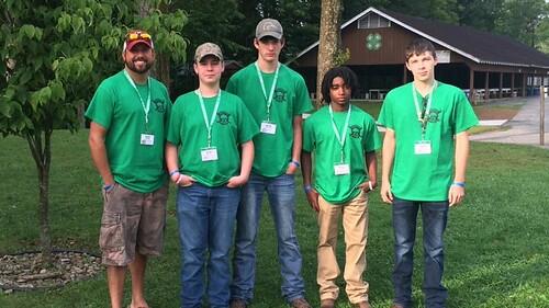 Calhoun County 4-H Forestry Team